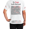 T-shirts No Dogs Left Behind